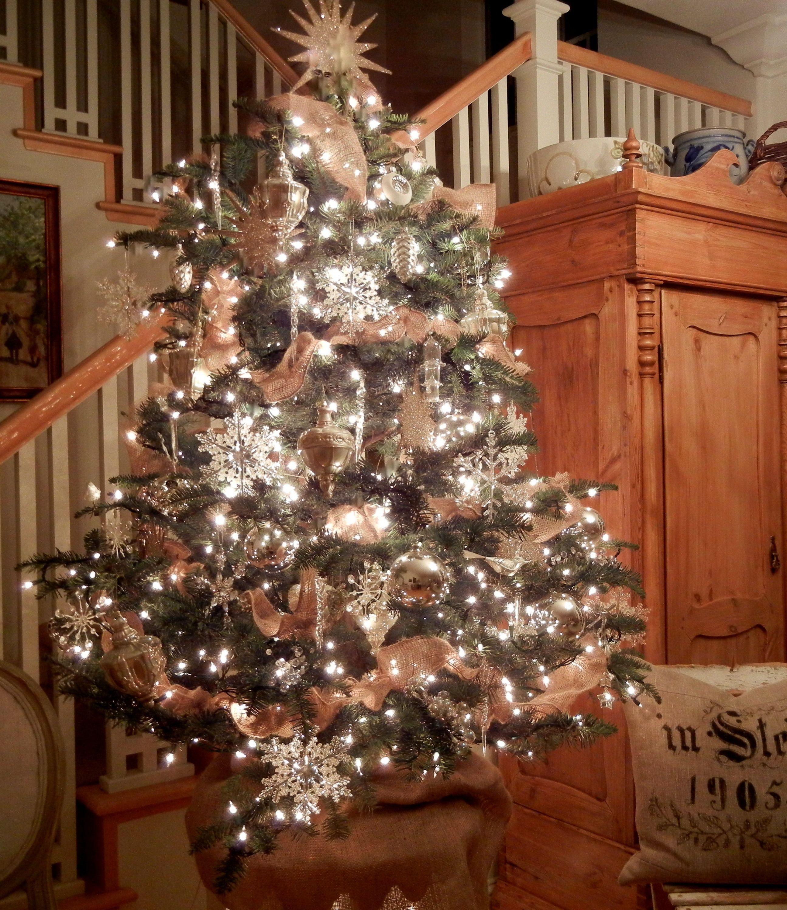 Am Weihnachtsbaum die Lichter brennen...