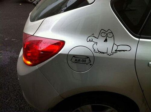 I love simon's cat and I want this for my Van!