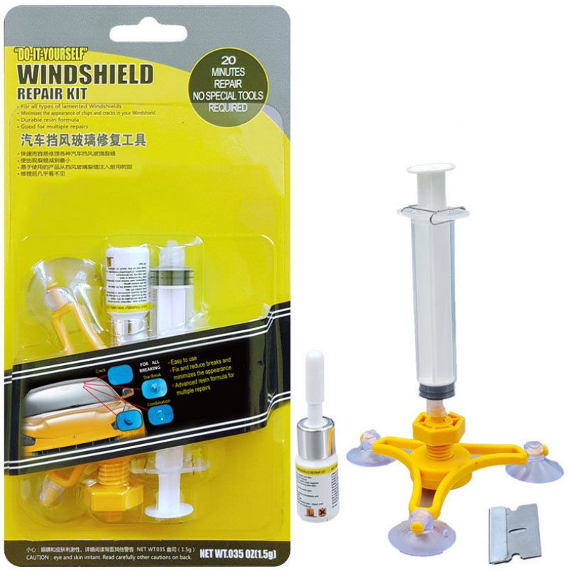 Car Window Glass Repair Kit Auto Windscreen Glass Repair