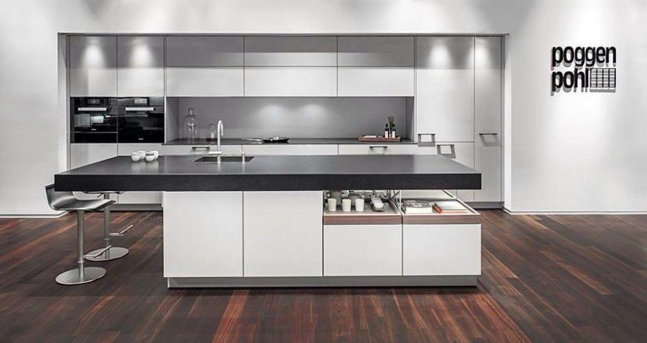 Moderne keuken eiland moderne keuken moderne keuken keuken pinterest - Moderne keuken deco keuken ...