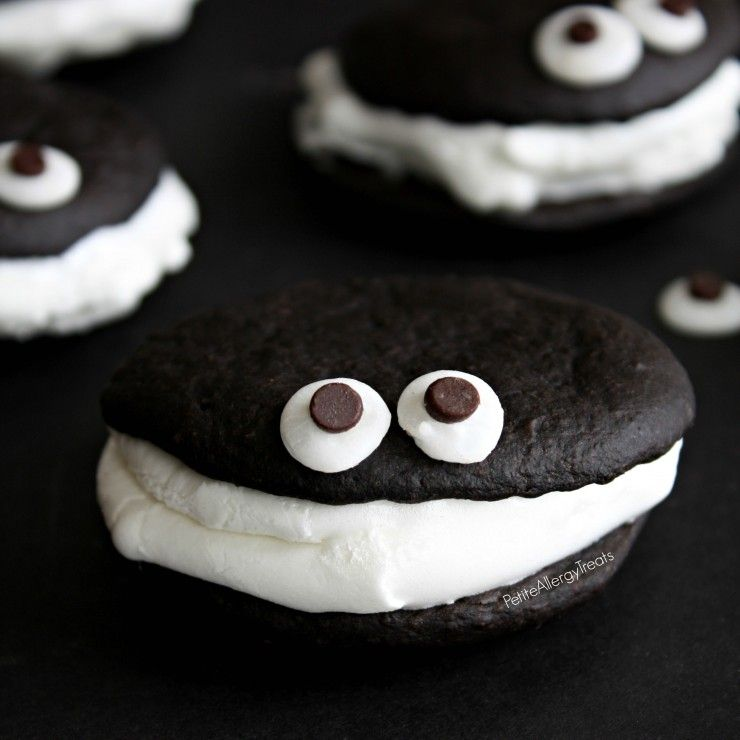 Gluten Free Chocolate Whoopie Pies With Marshmallow Recipe