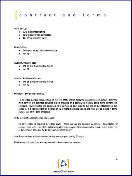 Contract Proposal Template Free Proposal Kit Sample  Page 6  Proposals  Pinterest  Proposals .
