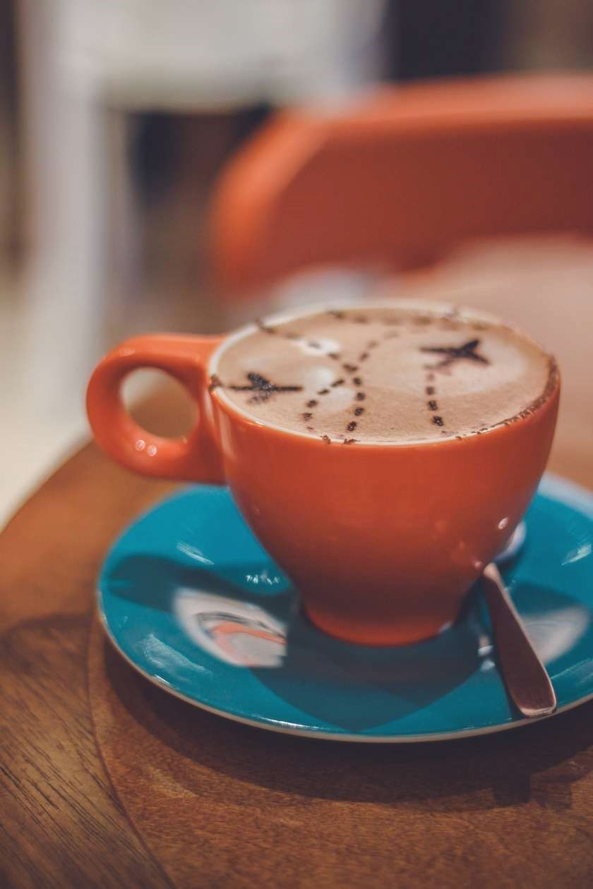 Enjoy Coffee Coffee Is Just One Of Those Things That Has Become A Part Of Our Day To Day Lives And It S Enjoy Coffee Orange Coffee Cups How To Make Cappuccino