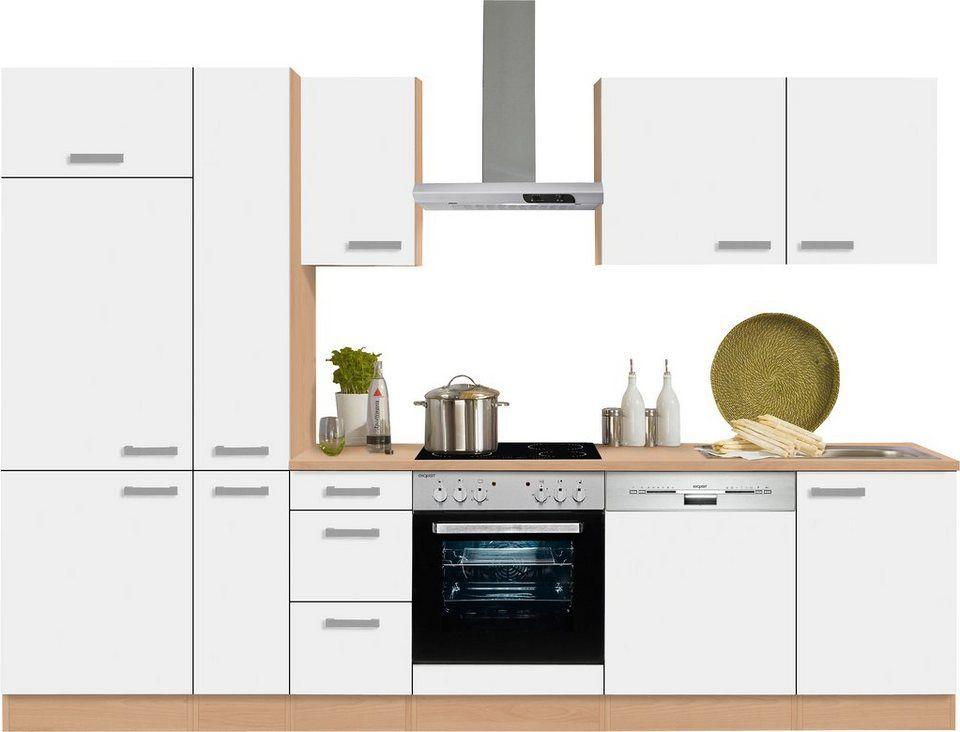 Optifit Küchenzeile ohne E-Geräte »Odense« , Breite 300 cm Odense - küchenblock ohne e geräte