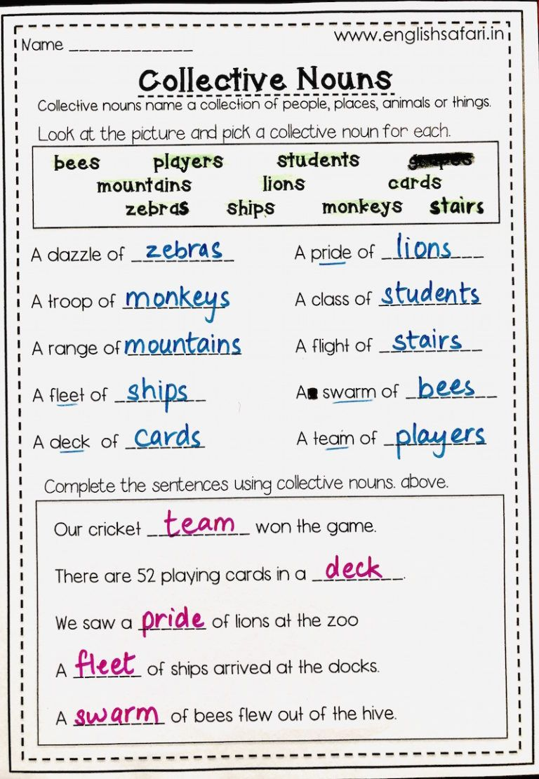 collective nouns list and worksheets FREE www.worksheetsenglish.com   Collective  nouns [ 1110 x 768 Pixel ]