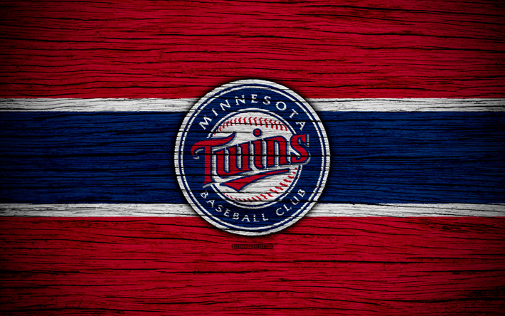 Download Wallpapers Minnesota Twins 4k Mlb Baseball Usa Major League Baseball Wooden Texture Art Baseball Club Minnesota Twins Baseball Twins Baseball Minnesota Twins