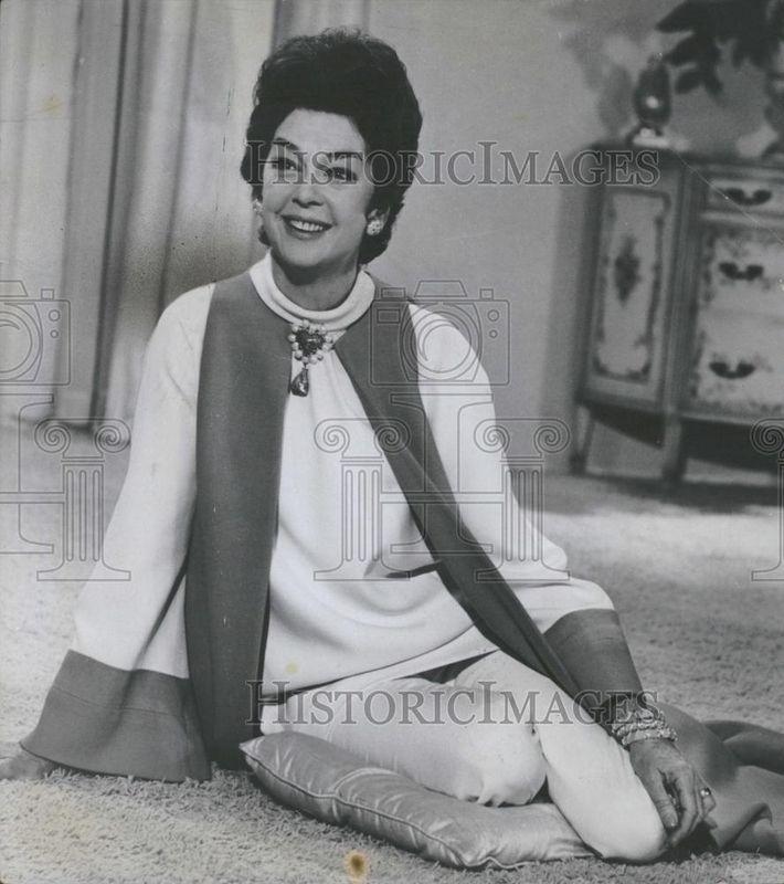 1967 Press Photo, Rosalind Russell as Rosie
