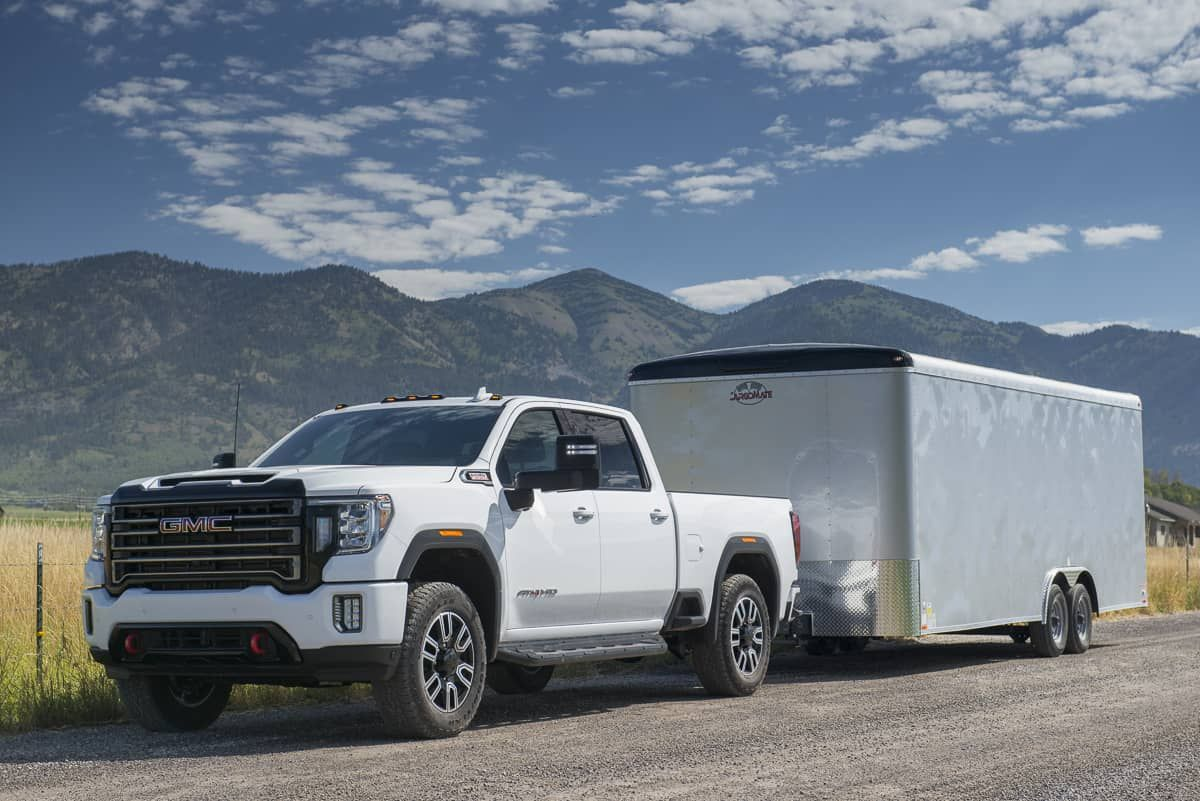 In Pictures 2020 Gmc Sierra 2500hd Denali At4 With Images Gmc Sierra 2500hd Gmc Sierra Gmc