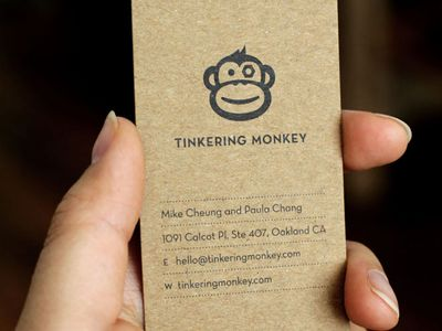 Dribbble tinkering monkey business card 1 by paula chang dribbble tinkering monkey business card 1 by paula chang reheart Images