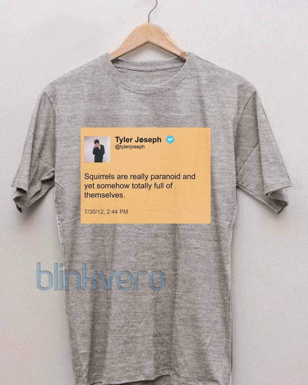 8f9e78cd6 Tyler joseph tweet awesome funny unisex tshirt tanktop adult //Price: $10 &  FREE Shipping // #shirts