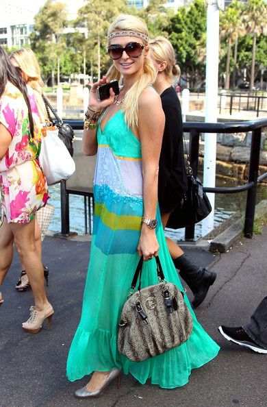 Wear Python to a beach party. Why? Because it looks GOOD! Do as Paris Hilton does <3