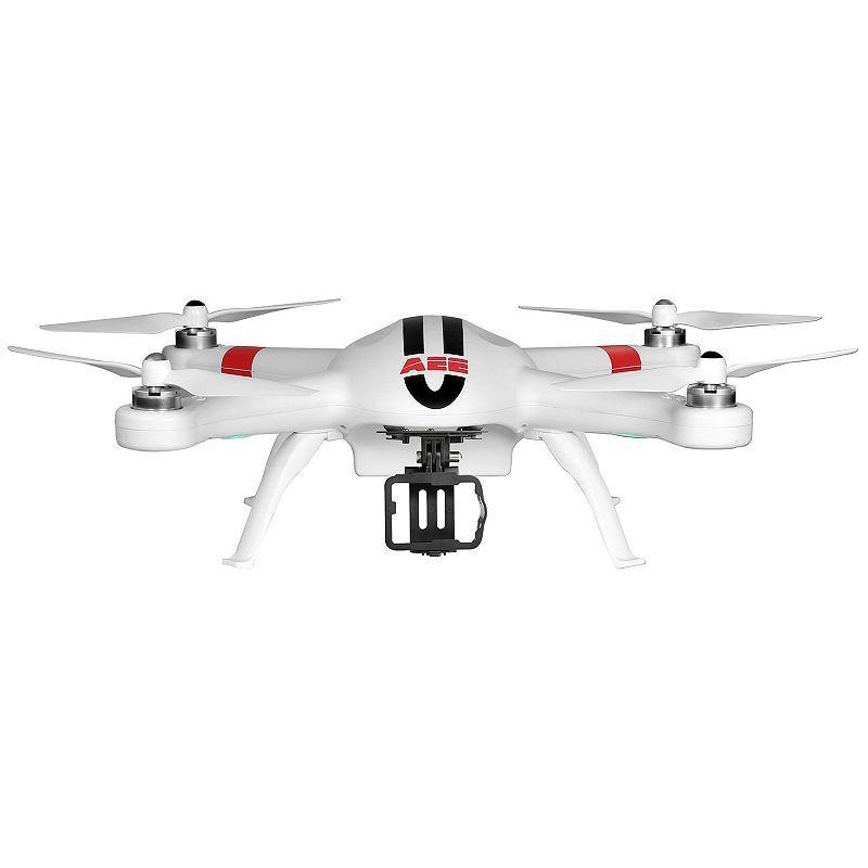 AEE AP9 Quadcopter Drone with Camera Mount, White