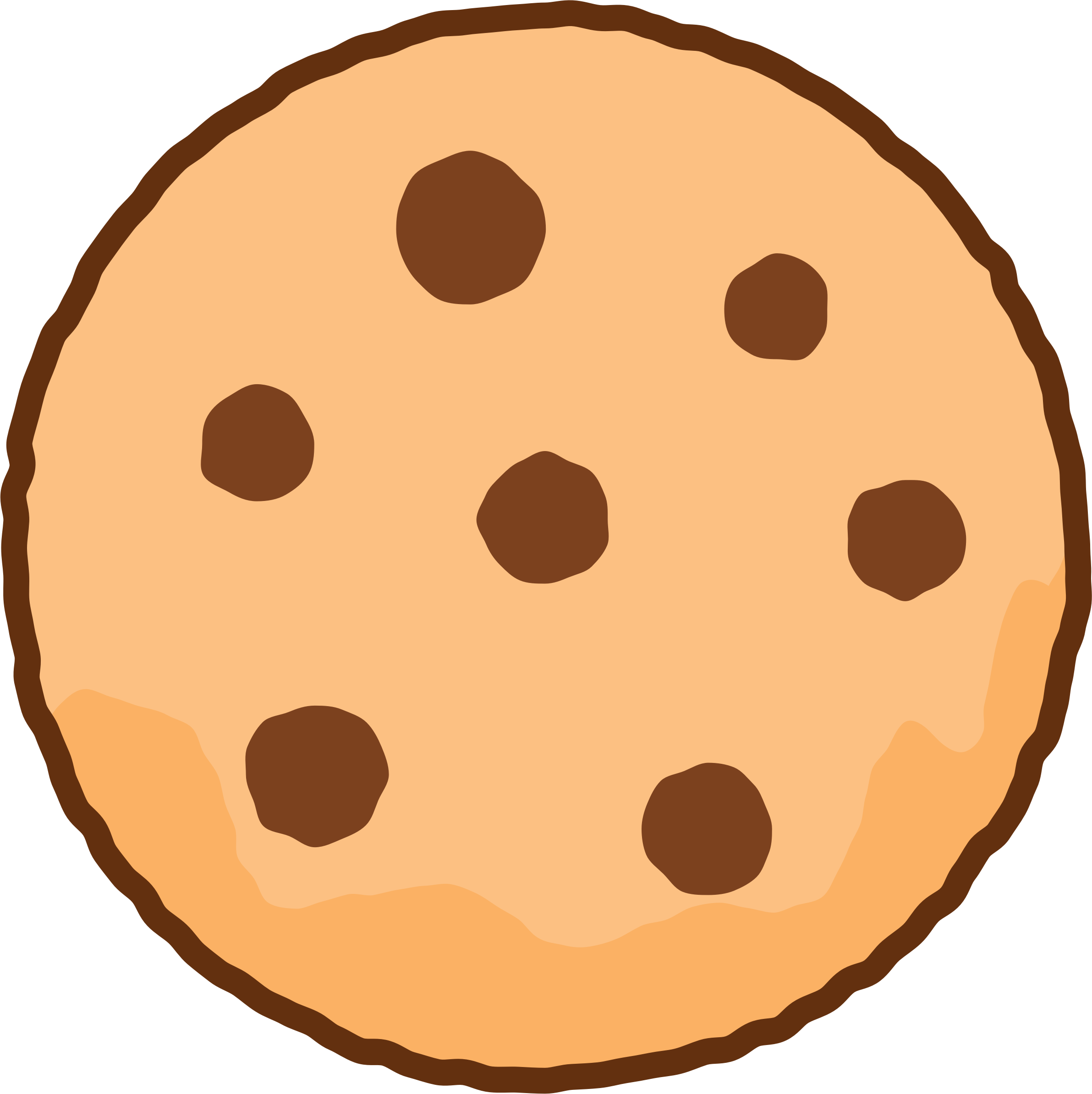Cookie By Jack7 Cookie Vector Simple Illustration Cookie Clipart