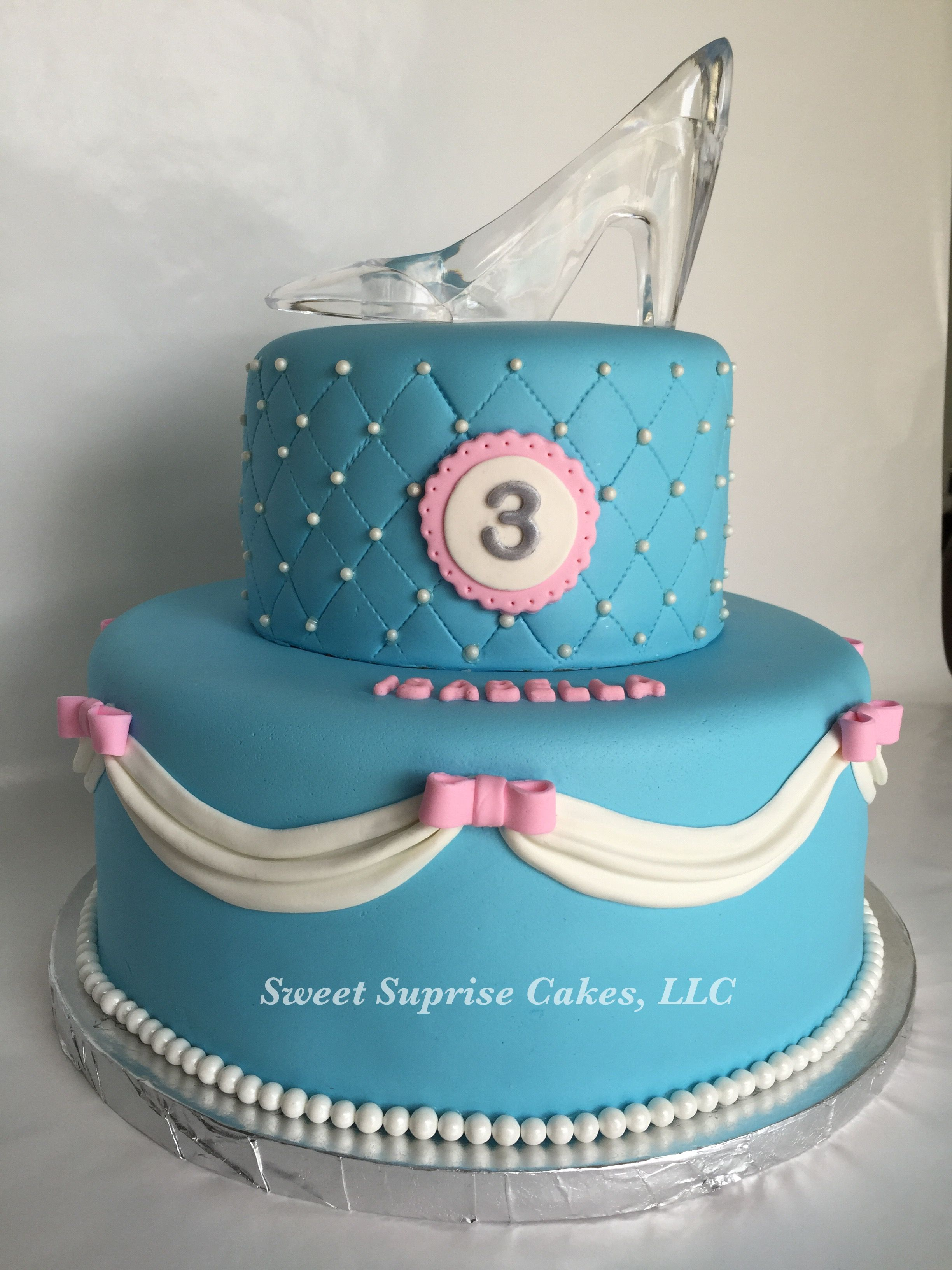 Disney Cinderella Cake Faiths Birthday Pinterest Cake