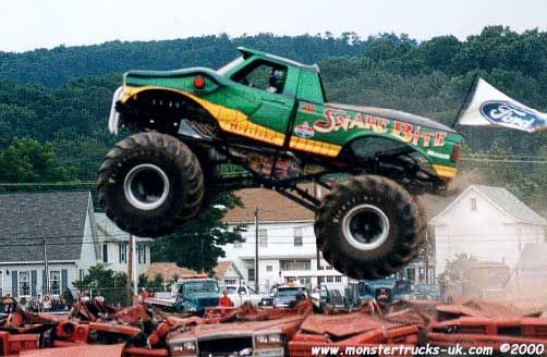 Picture Of Snakebite Monster Trucks Pinterest Snakebite