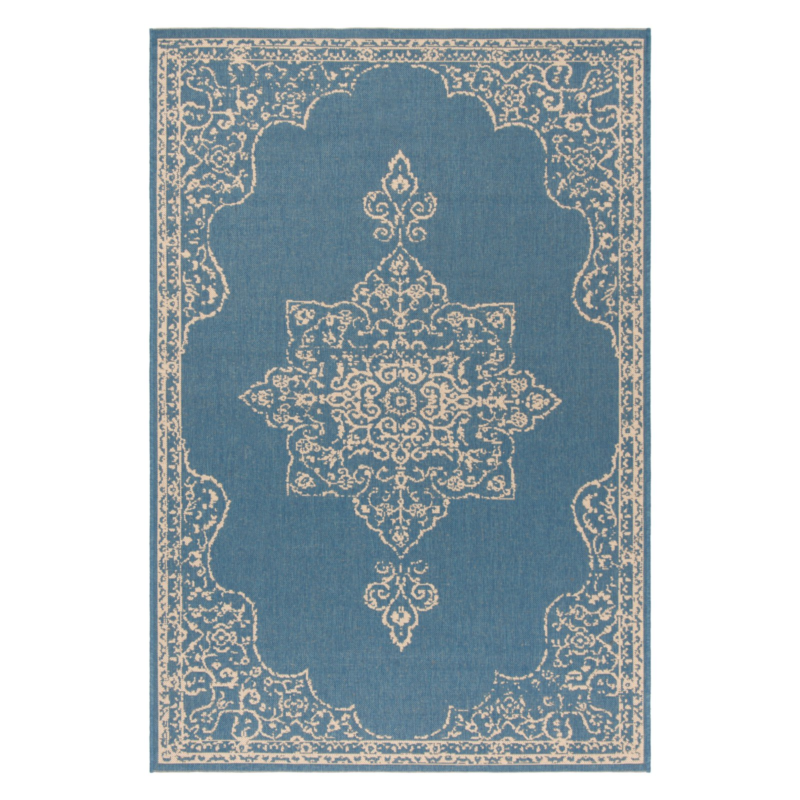 Safavieh Linden Area Rug Cream Blue Rugs Area Rugs Outdoor Rugs