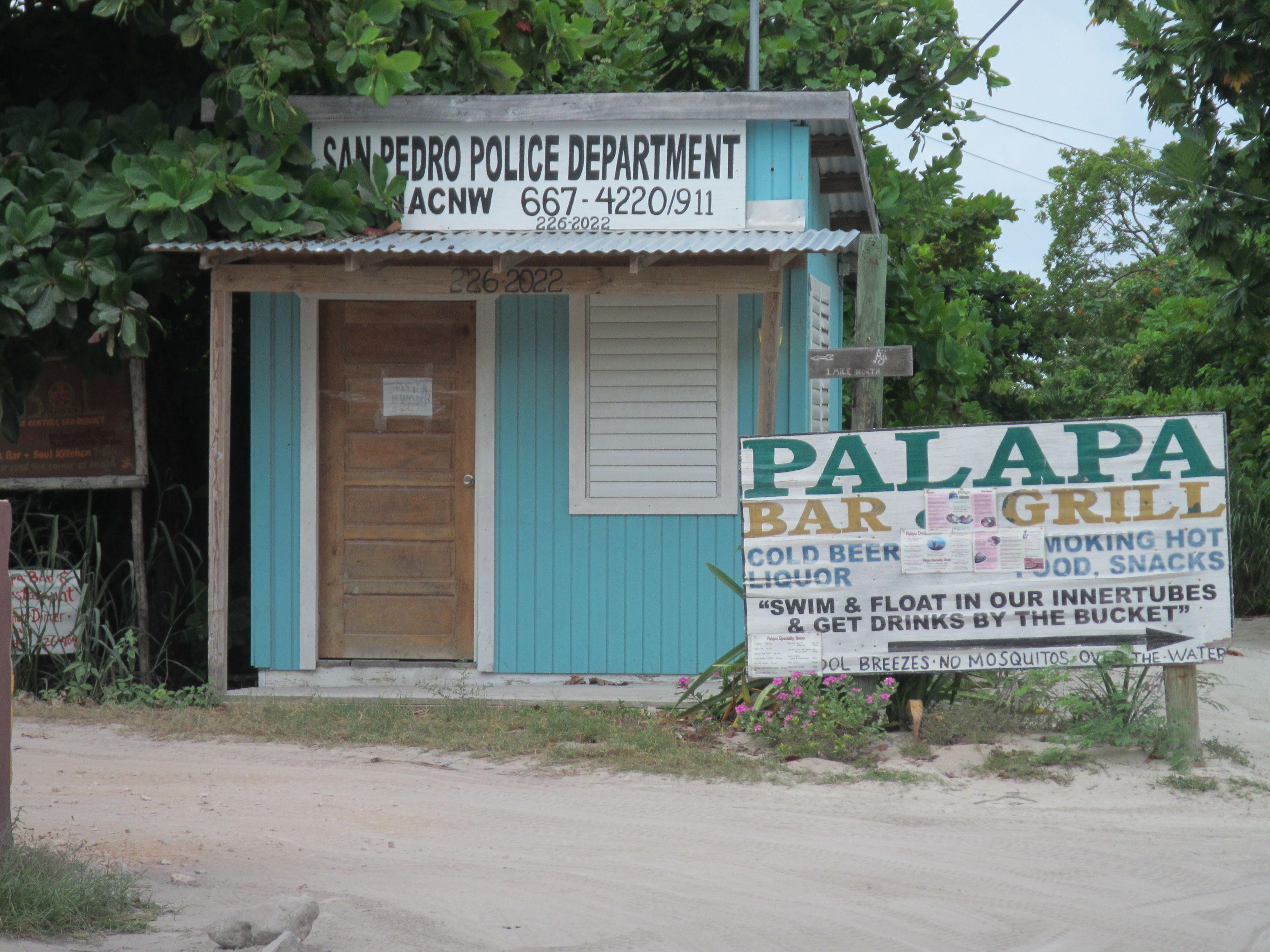 San Pedro police department.