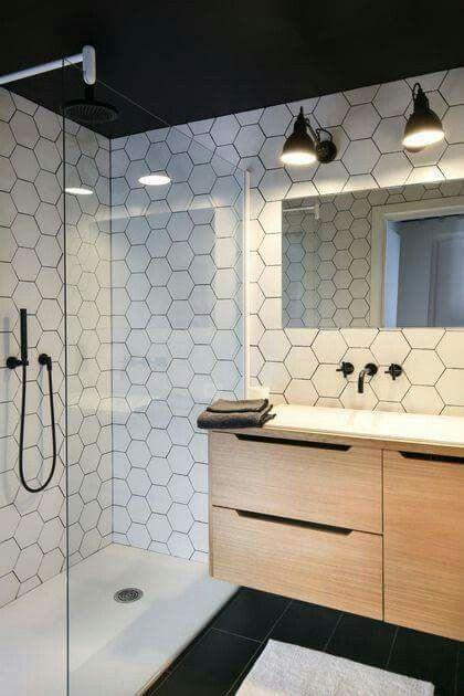Oświetlenie Nad Lustrem łazienka Bathroom Tile Designs