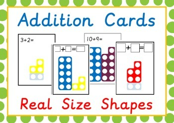 numicon addition activity cards numicon numicon addition activities numicon activities. Black Bedroom Furniture Sets. Home Design Ideas