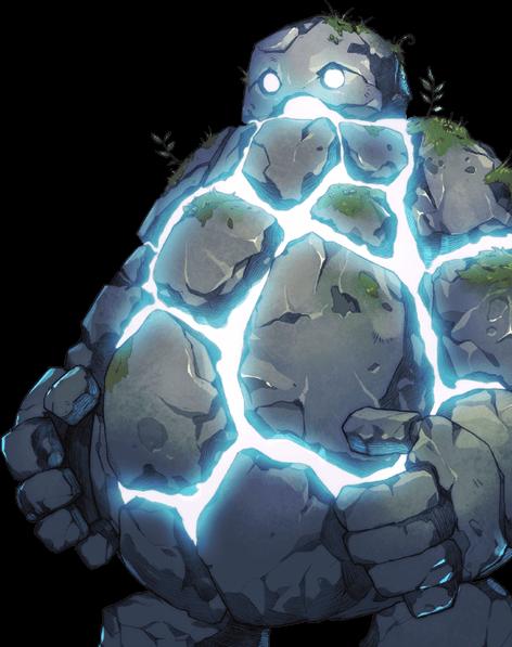 5 ロックゴーレムの画像 Monsters キャラクターデザイン