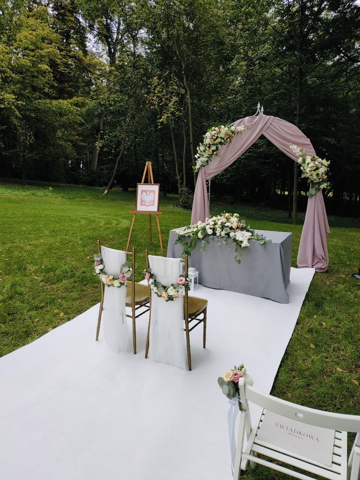 Dekoracje Na Slub Cywilny Outdoor Decor Outdoor Furniture Sets Wedding