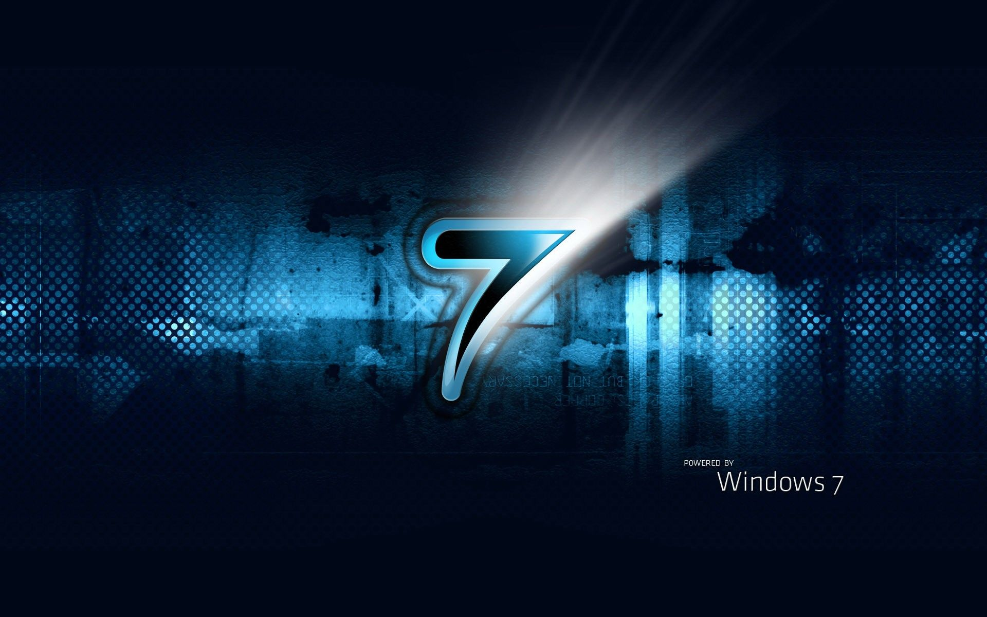 Powered By Windows Seven 1920x1200 Hd Wallpaper Hd Wallpaper Desktop Windows Wallpaper Computer Wallpaper