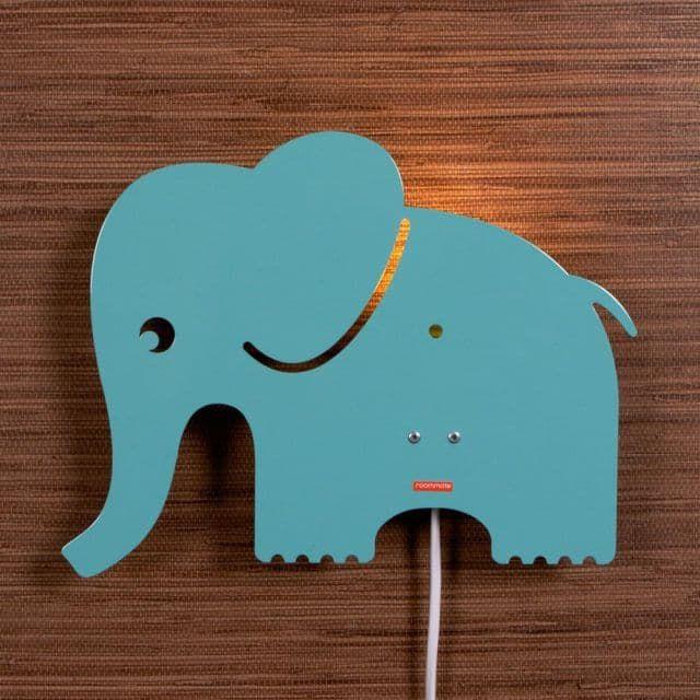 Kinderräume roommate wandle elefant metall mint kinder räume ag baby