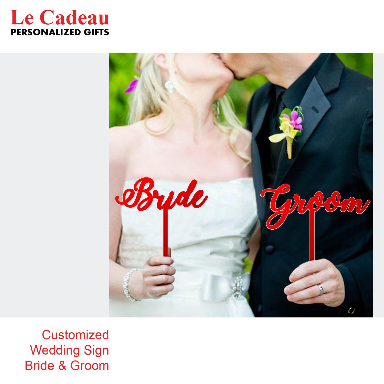 Customized Wedding Sign Bride Groom وسادة القضية رسالة خصم المملكه العربيه السعوديه جده طباعة نقش ليزر ديكو Wedding Bride Wedding Groom Groom Sign
