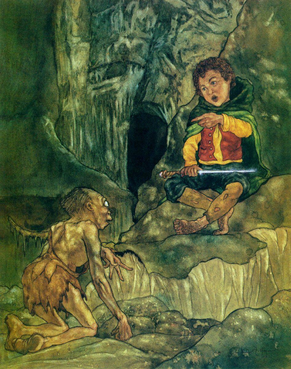 Riddles in the Dark Michael Hague in 2020 Tolkien