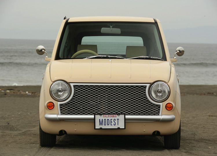 パイク 日産パオ Pao をモチーフにアルトをカスタマイズ 日産 パオ かわいい車 日産