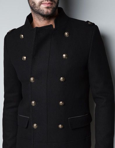Zara Jacket With Gold Buttons And More Pinterest