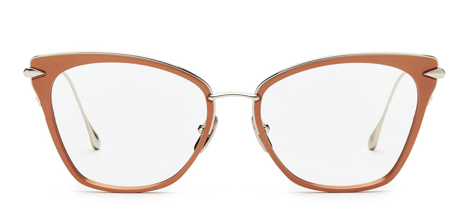 The ARISE optical glasses by DITA Eyewear in Rose Gold. | Glasses ...