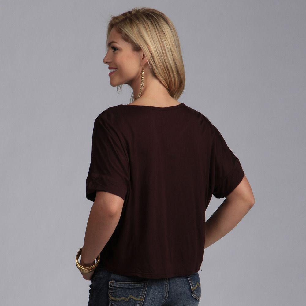 2870e7b6e9c83 24 7 Comfort Apparel Women s Wide Dolman-sleeve Top