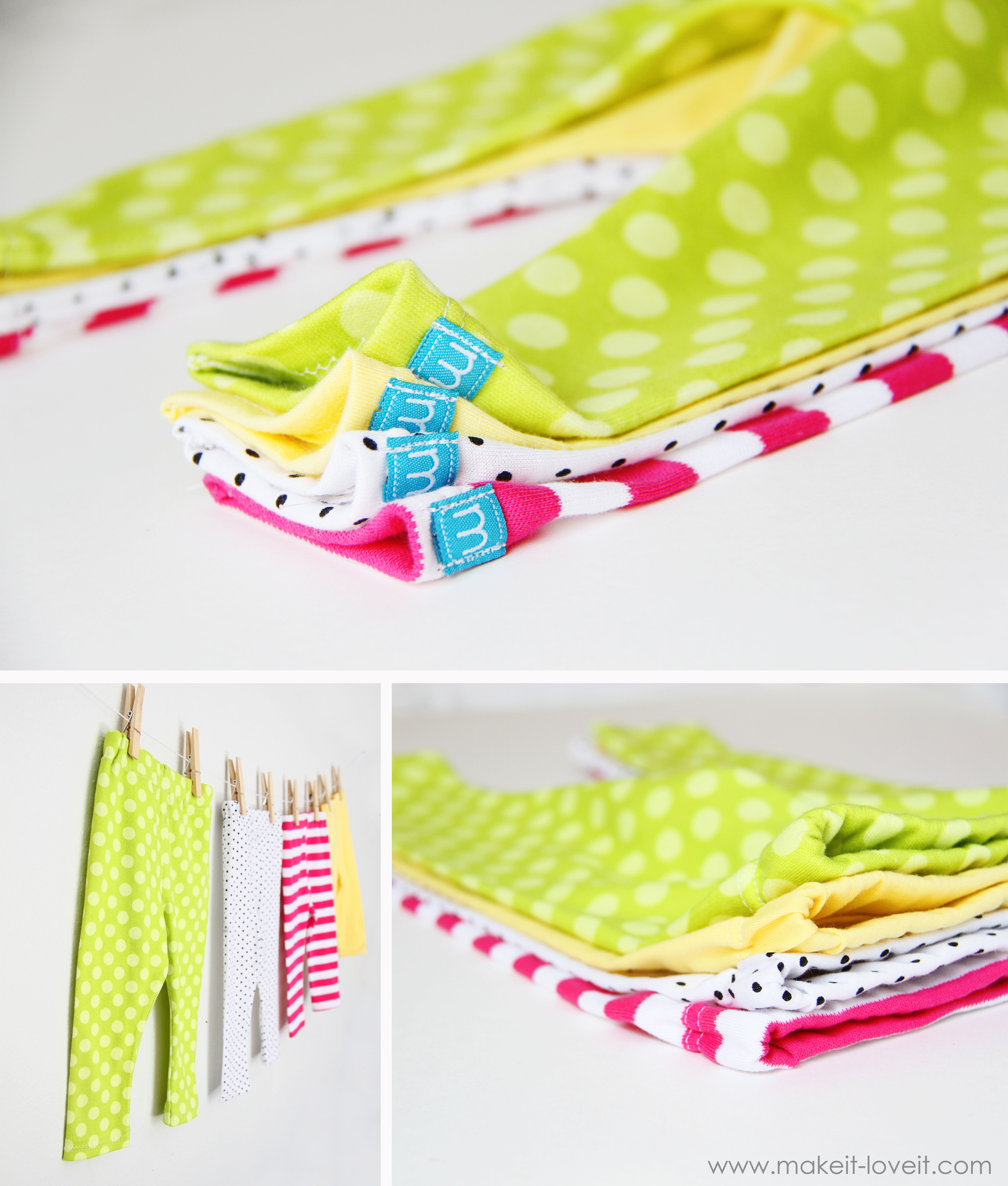 How to Make Leggings for Your Baby / Toddler Girl - So Many Patterns ...