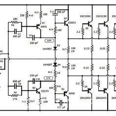 Amplificador De 1000 Watts Diagrama