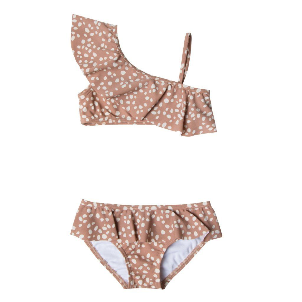 Rylee And Cru Terra Cotta Pebble Swimsuit Bikinis Two Piece Swimsuits Swimsuits