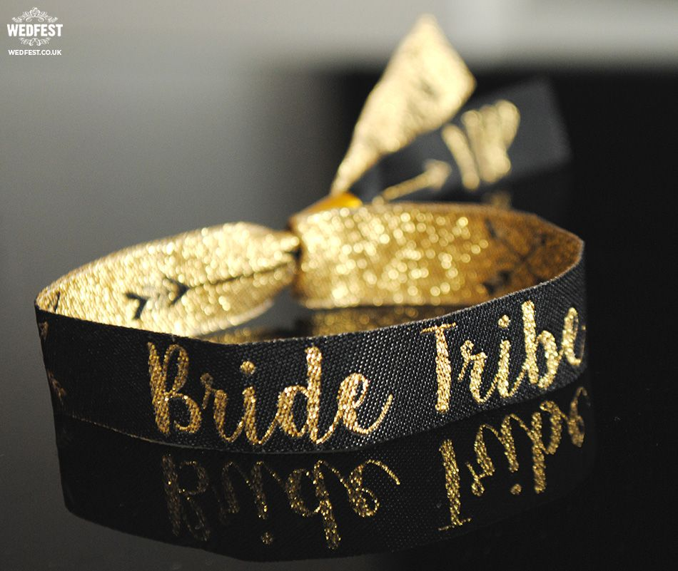 Bride Tribe /'Rose Gold/' Hen Party Wristbands ~ Bracelets accessories wristband