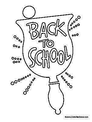 11 Places to Find Free Back to School Coloring Pages | Pinterest