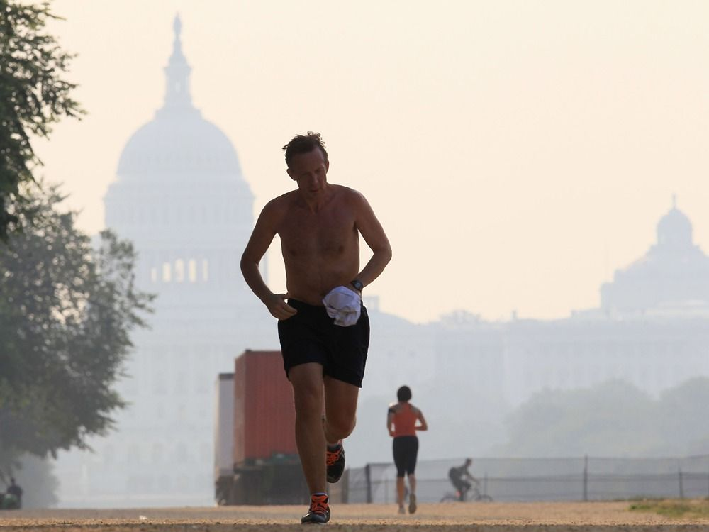 Make summer workouts less miserable with a pre-run slushie, study suggests