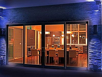 Pella Architect Series Patio Doors Add A Modern Outdoor View To