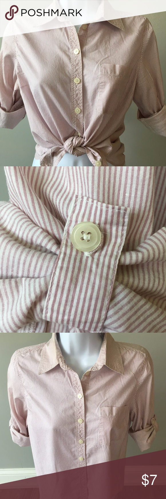 Forever ls mini candy stripe button down s summer dresses