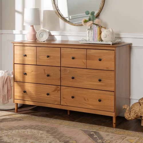 Best Lach 6 Drawer Double Dresser In 2020 Brown Dresser 640 x 480
