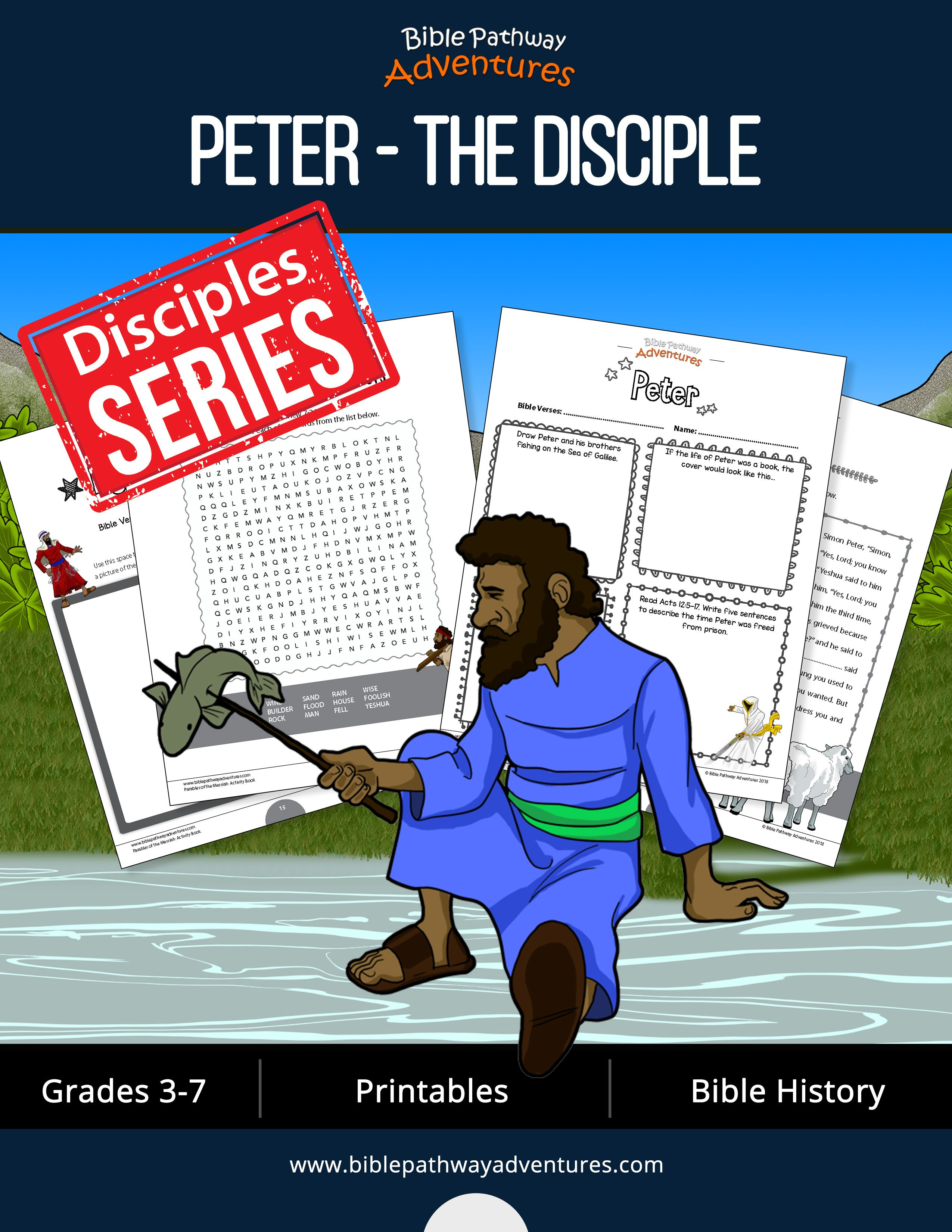 Peter The Disciple Activity Book