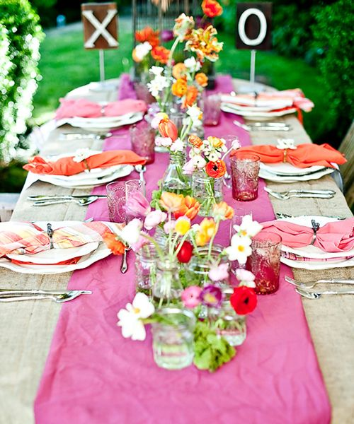 Summer Beach Tablescape And A Summer Tablescape Party: Dinner Party Tablescape Ideas