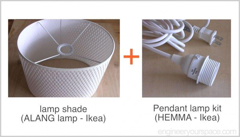Ikea Hack Alang Lamp And Pendant Kit