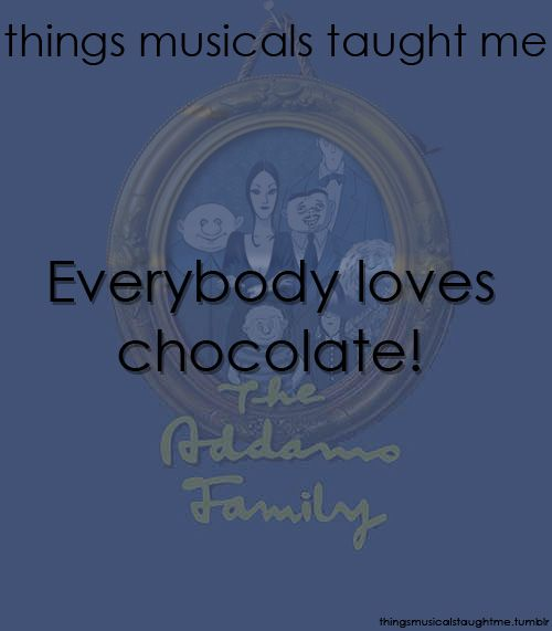 Things Musicals Taught Me Musicals, Musical lessons