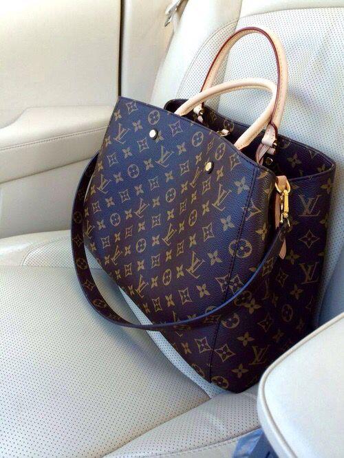 bag, fashion, and Louis Vuitton image Clothing, Sh