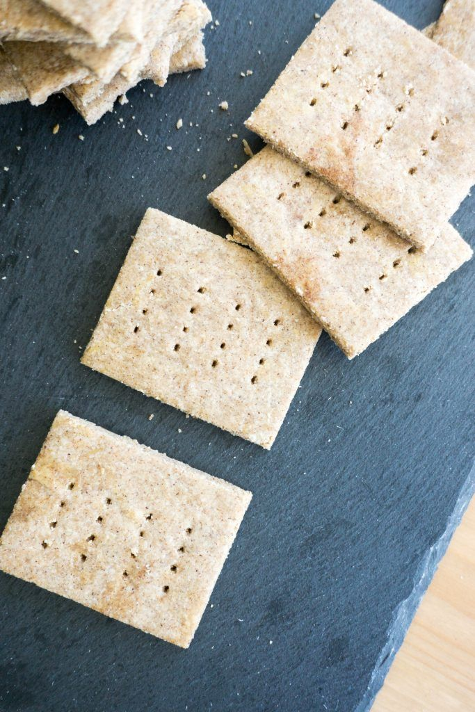 Make And Store These Sugar Free Graham Crackers Ahead Of Time For Quick To Grab On The Go Low C Healthy Snacks For Diabetics Diabetic Snacks Low Carb Crackers