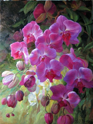 Orchid Fusion by Leon Roulette ~   via gallery1870.com