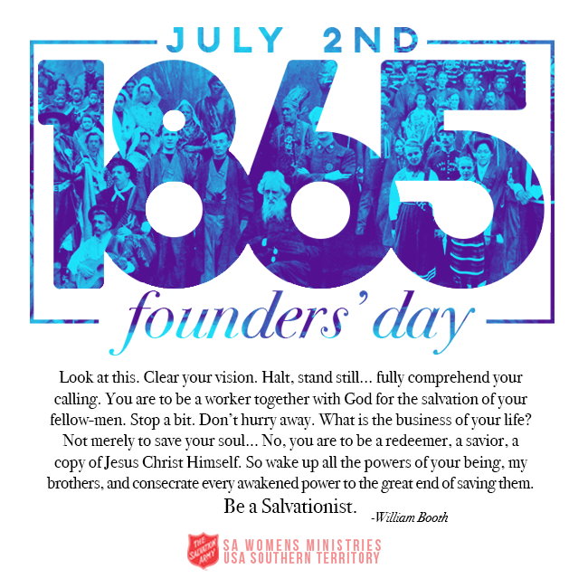 The Salvation Army Founder's Day | Salvation Army: Doing The Most